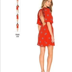 Free people Red Dress! Brand new with tags!